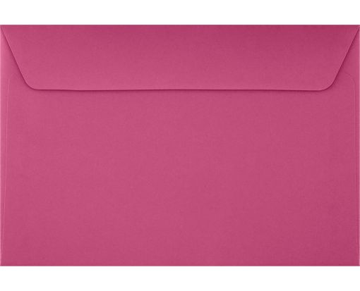 6 x 9 Booklet Envelopes Magenta