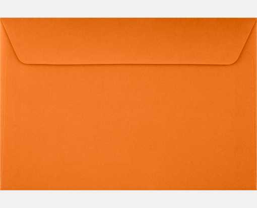 6 x 9 Booklet Envelopes Mandarin