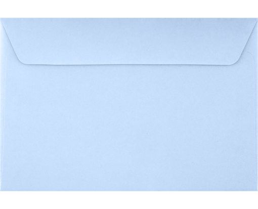 6 x 9 Booklet Envelopes Baby Blue
