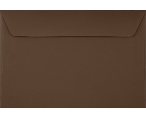 6 x 9 Booklet Envelopes Chocolate