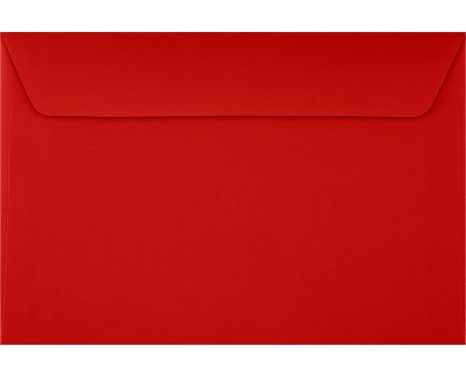 6 x 9 Booklet Envelopes Ruby Red