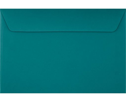 6 x 9 Booklet Envelopes Teal