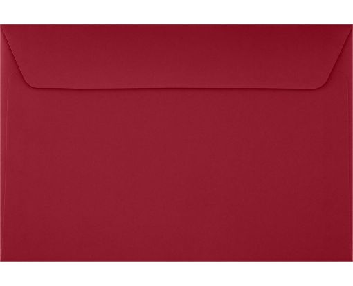 6 x 9 Booklet Envelopes Garnet