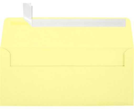 #10 Square Flap Envelopes (4 1/8 x 9 1/2) Lemonade