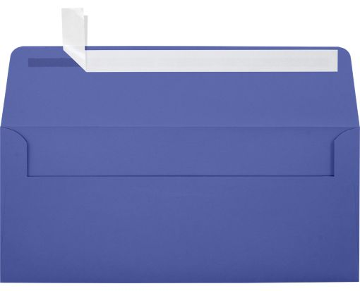 #10 Square Flap Envelopes (4 1/8 x 9 1/2) Boardwalk Blue