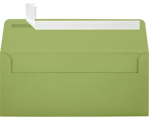 #10 Square Flap Envelopes (4 1/8 x 9 1/2) Avocado