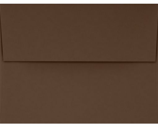 A2 Invitation Envelopes (4 3/8 x 5 3/4) Chocolate