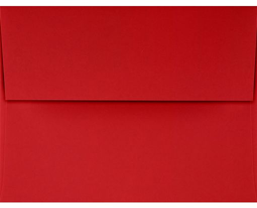 A2 Invitation Envelopes (4 3/8 x 5 3/4) Ruby Red