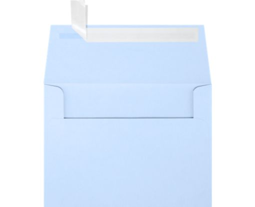 A6 Invitation Envelopes (4 3/4 x 6 1/2) Baby Blue