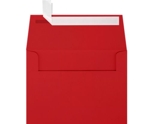A6 Invitation Envelopes (4 3/4 x 6 1/2) Ruby Red
