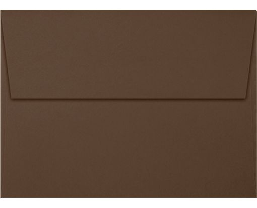 A7 Invitation Envelopes (5 1/4 x 7 1/4) Chocolate