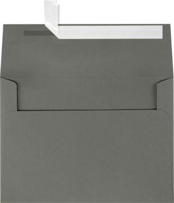 Smoke Gray A7 Envelopes Square Flap 5 14 x 7 14 Envelopescom