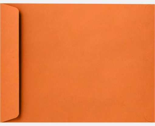 9 x 12 Open End Envelopes Mandarin