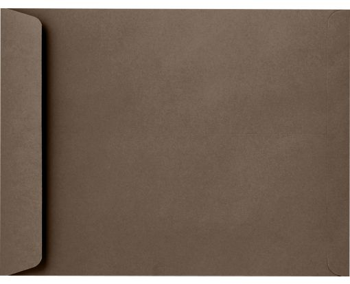 9 x 12 Open End Envelopes Chocolate