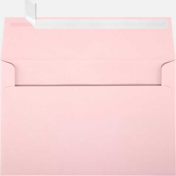candy pink a9 envelopes square flap 5 3 4 x 8 3 4