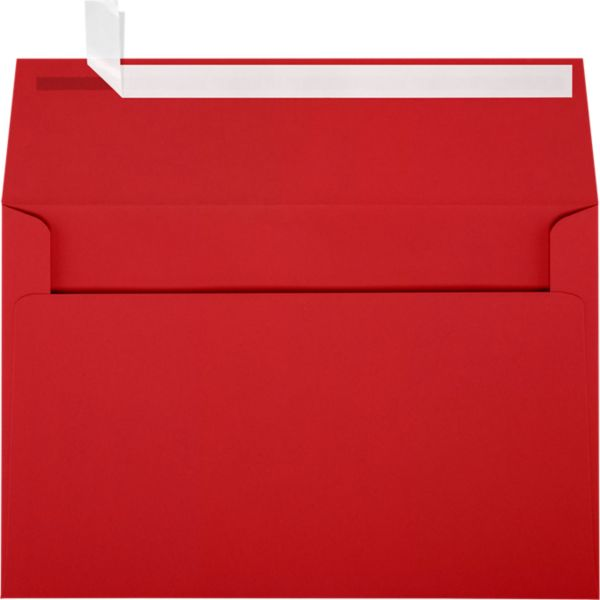 Ruby Red A9 Envelopes Square Flap 5 3 4 X 8 3 4 Envelopes Com