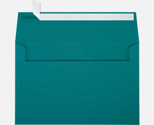 A9 Invitation Envelopes (5 3/4 x 8 3/4) Teal