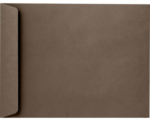 10 x 13 Open End Envelopes Chocolate