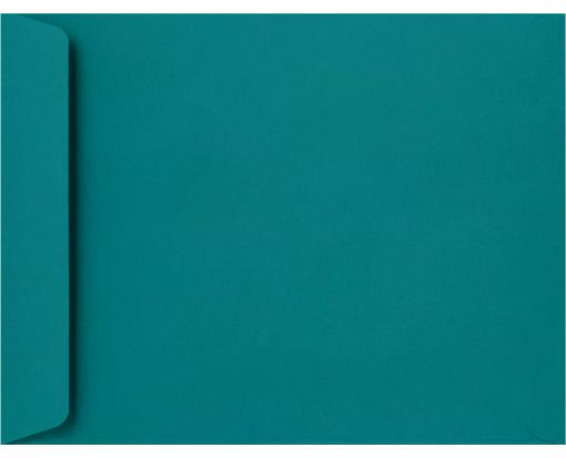 10 x 13 Open End Envelopes Teal