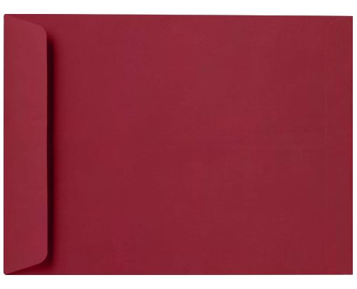 10 x 13 Open End Envelopes Garnet