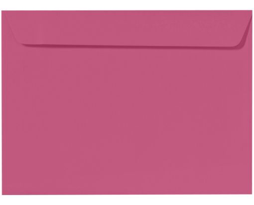 9 x 12 Booklet Envelopes Magenta