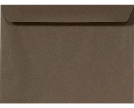9 x 12 Booklet Envelopes Chocolate