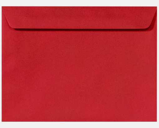 9 x 12 Booklet Envelopes Ruby Red