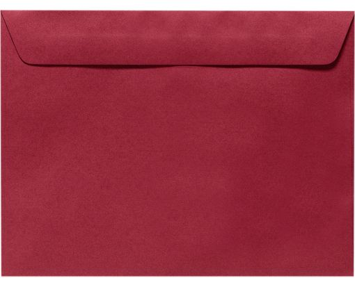 9 x 12 Booklet Envelopes Garnet