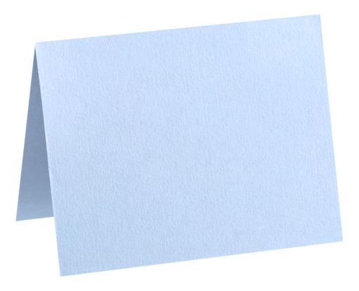 A1 Folded Card (3 1/2 x 4 7/8) Baby Blue