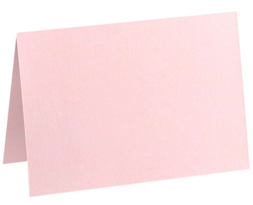 A1 Folded Card (3 1/2 x 4 7/8) Candy Pink