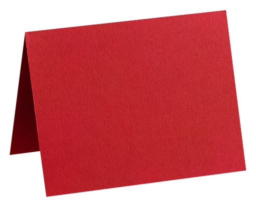A1 Folded Card (3 1/2 x 4 7/8) Ruby Red