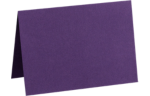 A1 Folded Card Deep Purple