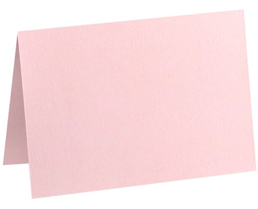 A2 Folded Card (4 1/4 x 5 1/2) Candy Pink