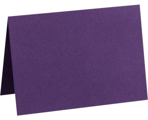 A2 Folded Card (4 1/4 x 5 1/2) Deep Purple