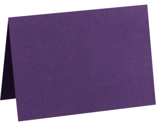 A6 Folded Card (4 5/8 x 6 1/4) Deep Purple