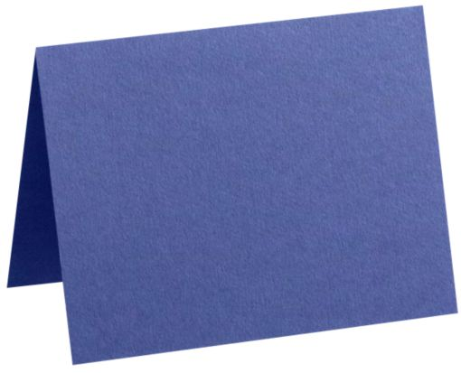 A6 Folded Card (4 5/8 x 6 1/4) Boardwalk Blue