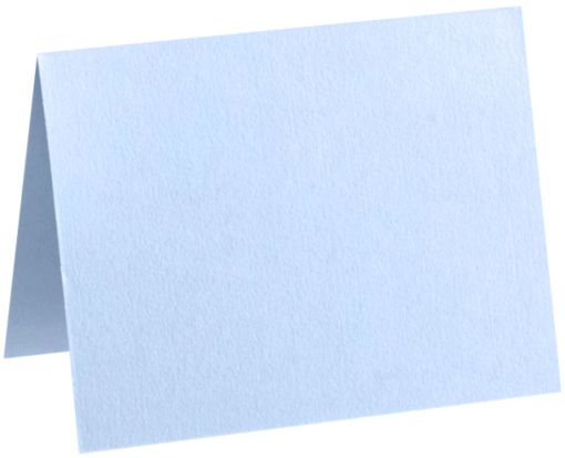 A7 Folded Card (5 1/8 x 7 ) Baby Blue