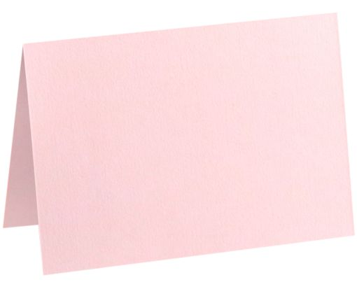 A7 Folded Card (5 1/8 x 7 ) Candy Pink