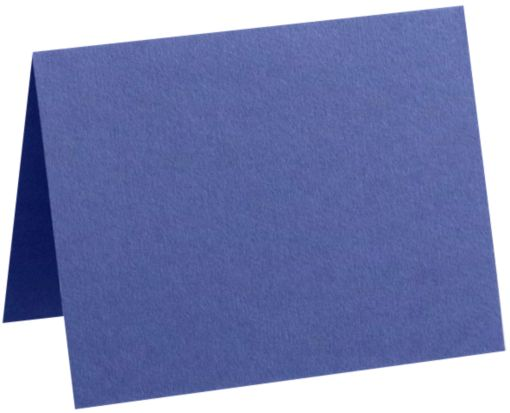 A7 Folded Card (5 1/8 x 7 ) Boardwalk Blue