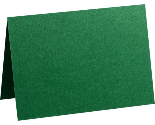A7 Folded Card (5 1/8 x 7 ) Racing Green