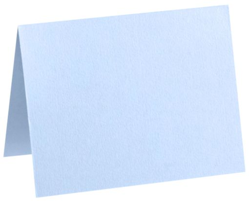 A9 Folded Card (5 1/2 x 8 1/2) Baby Blue