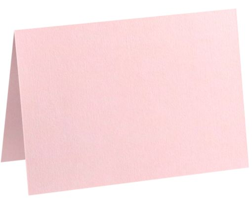 A9 Folded Card (5 1/2 x 8 1/2) Candy Pink