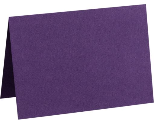 A9 Folded Card (5 1/2 x 8 1/2) Deep Purple