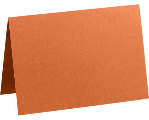 A9 Folded Card (5 1/2 x 8 1/2 Folded Size, 8 1/2 x 11 Unfolded Size) Rust