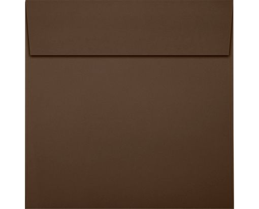 5 1/2 x 5 1/2 Square Envelopes Chocolate