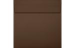 5 1/2 x 5 1/2 Square Envelopes Chocolate