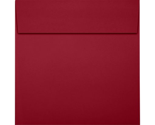 5 1/2 x 5 1/2 Square Envelopes Garnet