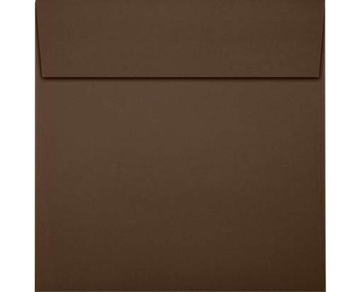6 1/2 x 6 1/2 Square Envelopes Chocolate