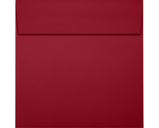 6 1/2 x 6 1/2 Square Envelopes Garnet