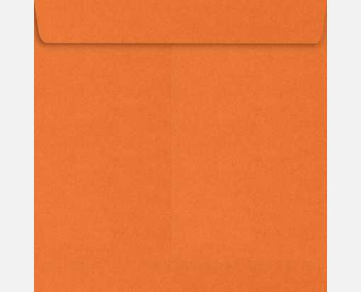 7 1/2 x 7 1/2 Square Envelopes Mandarin